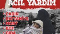 ASİM, ADANA'DAN İDLİB'E 1 AYDA 11 TIR YARDIM GÖNDERDİ