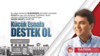 """Demokrat Parti'den küçük esnaf için tam yerinde tamda zamanında yeni bir kampanya:"""" Küçük Esnafa Destek Ol Türkiye"""""""