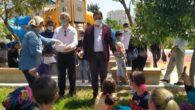 İYİParti Yüreğir İlçe Teşkilatı Çocukları Sevindirdi