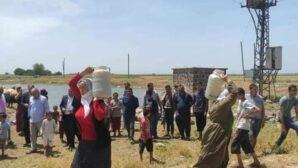 Derik, Kızıltepe, Mazıdağı halkı su ve elektrik sıkıntısı çekiyor.