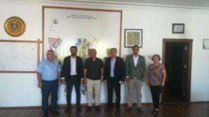 Gelecek Partisi heyeti Başkan Özgan'ı ziyaret etti