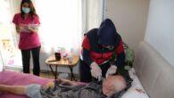 Büyükşehir'in evde bakım ve sağlık hizmeti aralıksız sürüyor