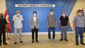 Yerel Medya Güç Birliği Platformu'ndan AK Parti İl Başkanı Av. Mehmet Ay'a Ziyaret