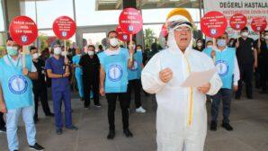 Sağlık Bakanlığı Bürokratlarını Sağlıkçıyı Anlamaları İçin Tulum Giymeye Davet Ediyoruz !