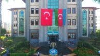 Sarıçam Belediyesi'nden Azerbaycan'ı gururlandıran bayrak.