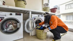 Büyükşehir çamaşırhanesine ihtiyaç sahiplerinden yoğun talep
