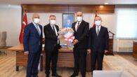 Sarıçam Oto Center Yönetim Kurulu, Adana Valisi Süleyman Elban'ı makamında ziyaret etti.