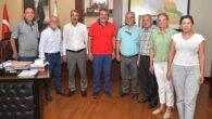 Adana TÜED adayı Güçtekin ve ekibinden Başkan Çetin'e ziyaret