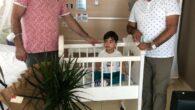 Tunç Pastanesinin sahibi Fuat Tunç'un oğlu Muhammet Selim erkekliğe ilk adımını attı